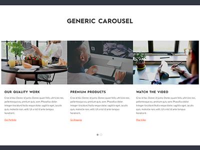 generic carousel
